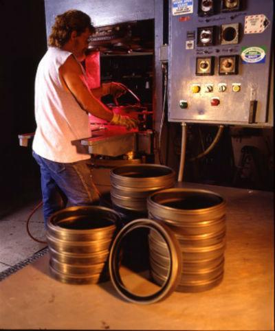 compression press, gasket, irrigation